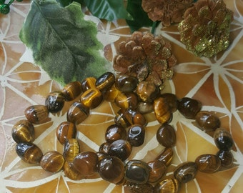 Tiger's Eye Bracelet. Gemstone Bracelet.