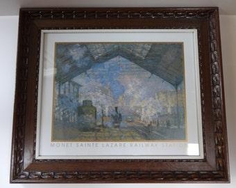 Art, Framed Art, Print, Art Print, Framed Print, Wall Art, Wall Decor, Monet, Monet Print, Impressionist, Impressionist Art, Framed Monet,