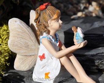 Fairy Nicole for Miniature Garden, Fairy Garden
