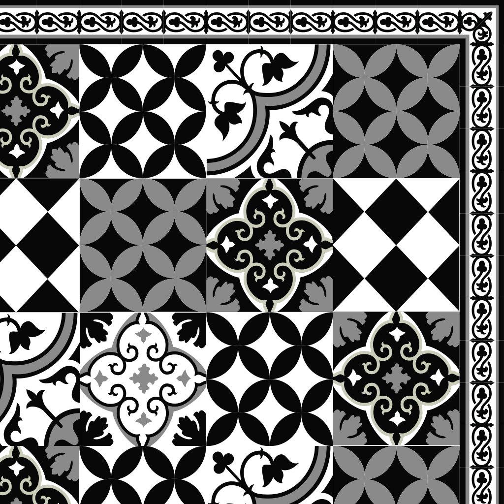 versandkostenfrei fliesen muster dekorative pvc vinyl matte. Black Bedroom Furniture Sets. Home Design Ideas