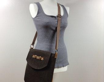 Messenger bag,Totes,Tote bag,City bagBrown bag,Canvas bag, Hobo bag,Woman bag,Shoulder bag,Crossbody bag,Linen purse,Bags and Purses,