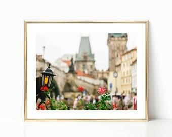 Fine Art Print, Prague, Travel Photography, Charles' Bridge