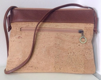 Handbag in high quality natural cork - Eco Friendly