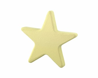 Wooden drawer pulls, Beige wardrobe knobs, Nursery dresser knobs, Star cabinet knobs and pulls, Children room ideas, Kids star decorations