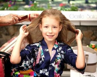 Flower Girl Robe*Flower Girl Gift*Wedding Gift for Flower Girl*SPA PARTY ROBES for Girls*Birthday Party*Children's Robe*Bridesmaids Robes