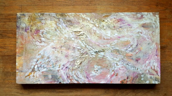 Tessellate - Original Artwork - Mixed Media on 11x24x1 Recycled Canvas