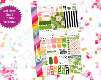 Bella Rosa Weekly Planner Sticker Kit! (BS294) For your Erin Condren, Happy Planner, Inkwell Press, or other planner