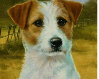 Jack Russell Terrier Garden Flags