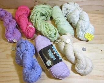 Large Lot of Vintage Persian Needlepoint, Embroidery & Cross Stich Virgin Wool Yarns  * Paterna Persian Wool Needlework Yarn * Crewel Yarn