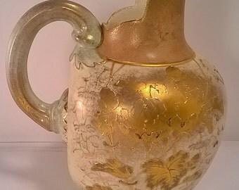 Vintage Austrian Ceramic Pitcher