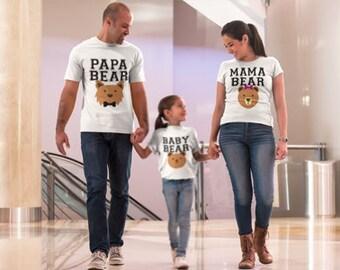 Papa Bear Shirt | Hubby Shirt | Daddy and Me Shirts | Daddy Bear Shirts | Papa Bear Shirt Shirt | Poppa Bear T Shirts