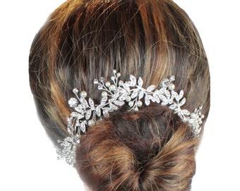 Bridal Hair Vine, Wedding Hair Vine, Hair Jewellery, Bo Ho Hair Vine, Bridal Hair Vine, Woodlands  Hair Vine