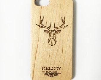 IPhone case 6 / 6s Maple - deer head