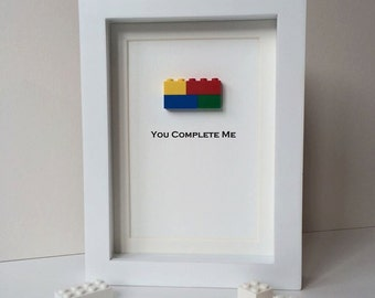 Mini Moments Lego® Art - You Complete Me