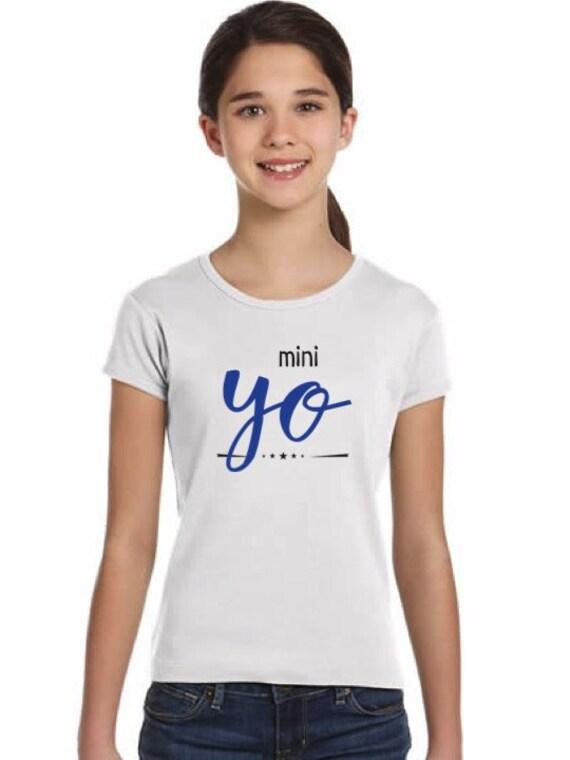 Girl t-shirt YO in various colors