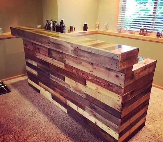 Wood pallet bar - Fabrication d un bar en bois ...