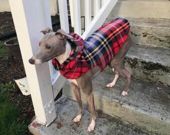 Italian Greyhound Quick Wrap Hooded Vest