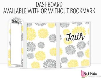 FAITH Laminated Dashboard for Traveler's Notebook | .3mil | DB007