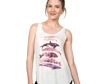 Whales Galore Tank top