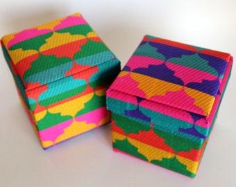 Brocade Gift Box: Set of 2