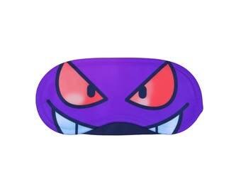 Gengar Pokemon Sleeping Eye Mask - Funny Awesome Gift - Sleep Eye Pillow Cover