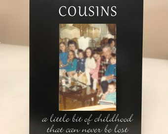 Cousins Picture Frame