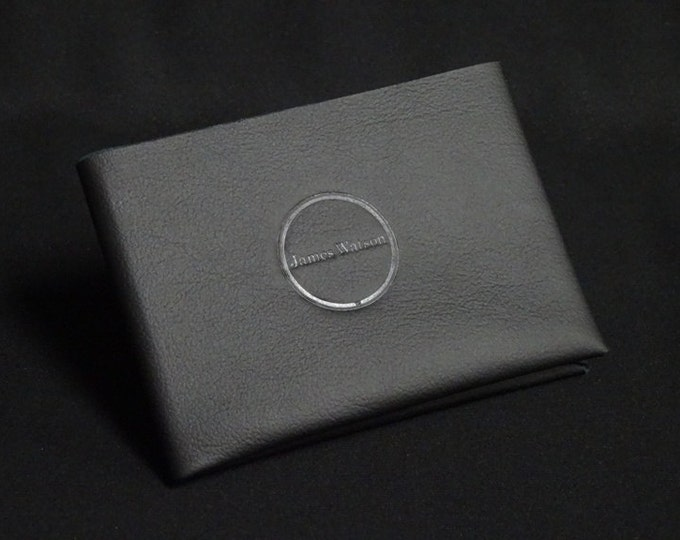 6-Pocket Wallet - Black - Kangaroo leather with RFID credit card blocking - Handmade - Mens/Womens - James Watson
