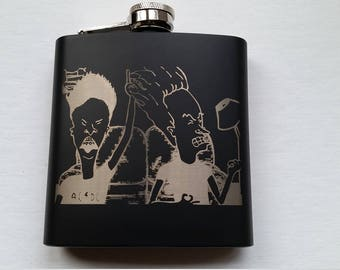 Beavis and Butthead - 6 oz Flask