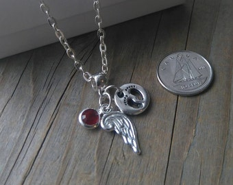 Remembrance / Infant Loss / Memorial Necklace