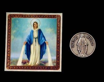 Lady of Grace Pocket Coin & Prayer Card