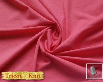 Knit, 150 gsm, coral, cotton-lycra, 92-8%, jersey, spandex, multiple quantity cut in one piece, 349-23