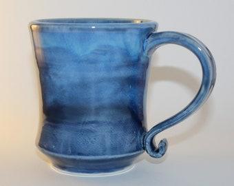 Medium blue mug