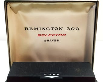 Vintage Remington 300 Selectro Electric Shaver Razer