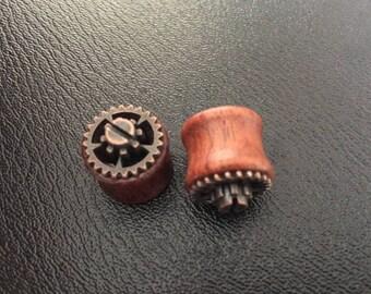 """""""Steampunk"""" 14mm plug"""