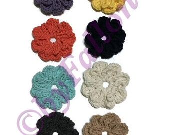 Additional button-on flowers for Baby headbands