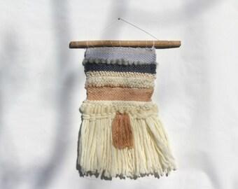 Pastel contemporary weaving