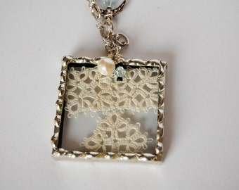 Soldered Tatted Necklace