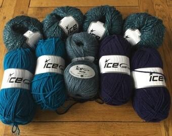 Yarn, Wool, Knitting Wool, Weaving Yarn, Ice Yarn