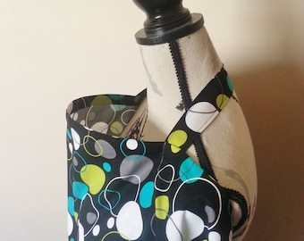 Nursing cover / Breastfeeding cover / Hoopla dot lagoon nursing cover up