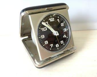 velona travel clock, black
