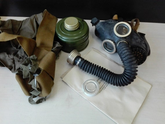 Russian vintage gas mask