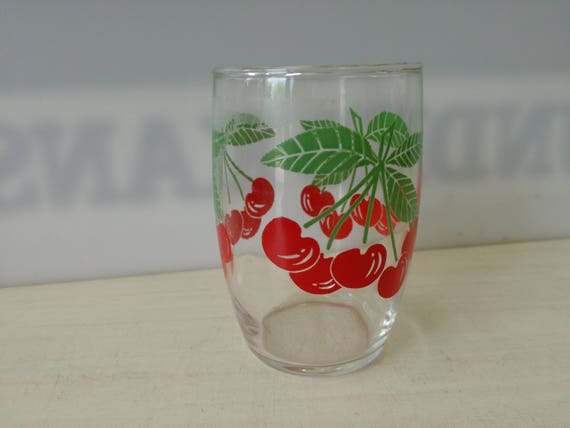 Fruit Glas, cherry (multiple available)