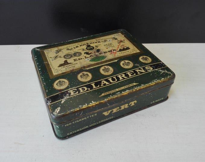 Ed Laurens , le khedive , cigarettes box