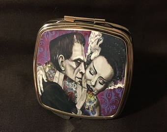 2.5/2.5 compact mirror with Frankenstein