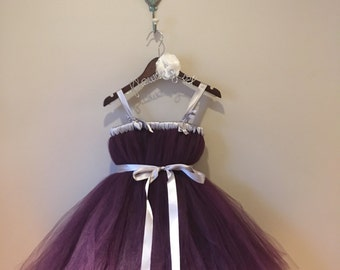 12-24month Purple Tulle Dress