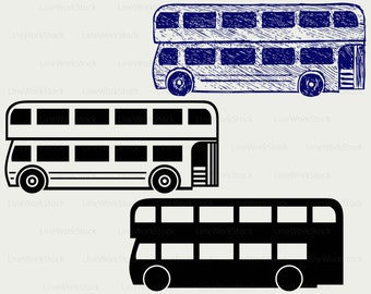 London bus clipart – Etsy