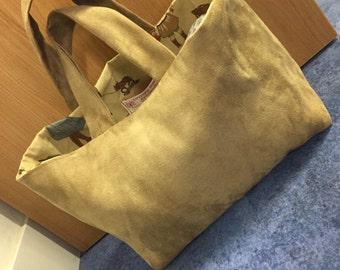 beautiful Suedette bag