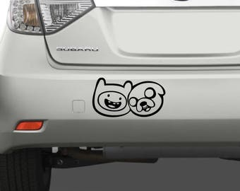 Finn and Jake - Adventure Time Decal