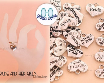 HEART RING 'The Bride and Her Girls' - 5 designs available