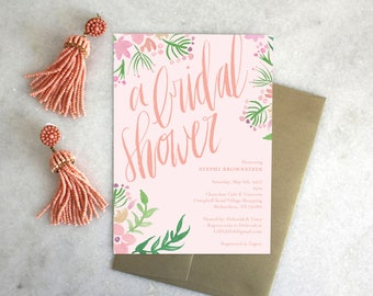PRINTABLE Bridal Shower Invitation | Flower Crown